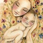 Atelier Massage Parents-Bébés (c) Solange Carriere - Thérapeute Intuitive du Fé