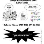 Bourse aux jouets et aux vêtements (c) Saint-Paul Cap de Tout - Association des Pare
