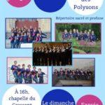 Concert Chor Unum avec Les Polysons (c) Le Sénevé école & collège