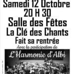 Concert de rentrée (c) La Clé des Chants deLombers