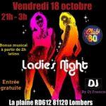 Soirée filles (c) CLUB 80 Lombers 81120