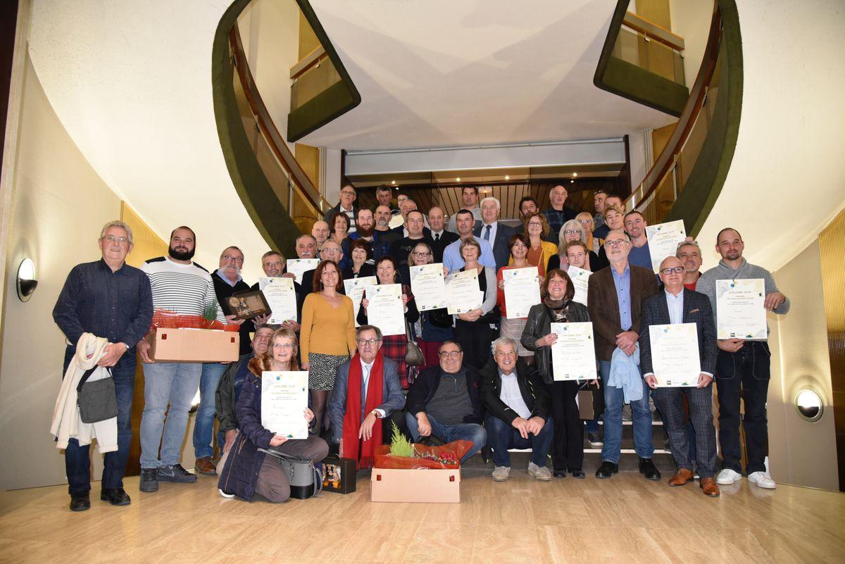 Lauréats 2019 du concours des Villes et Villages Fleuris 2019 / © Département du Tarn