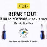 Atelier Repar'tout (c) Le Radis Bleu