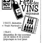 Dégustation de vins nouveaux régionaux (c) Foyer Rural de Marzens