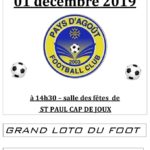 Loto du Pafc - Pays d'Agoût Football Club (c) Pays d'Agoût Football Club - PAFC
