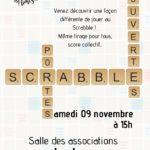 Portes-ouvertes section Scrabble (c) Éclats de Rimes