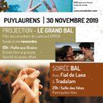 Projection & bal - Le grand Bal (c) Médiathèque de Puylaurens - Association Amiti