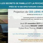 Projection du film 'Ces liens invisibles' (c) Imag'in cinéma Gaillac