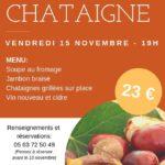 Repas Châtaignes (c) Club de l'amitié de Lautrec
