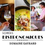 Soirée bistronomique au Domaine Gayrard (c) Domaine Gayrard