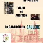 Visite et audition du carillon de Gaulene (c)